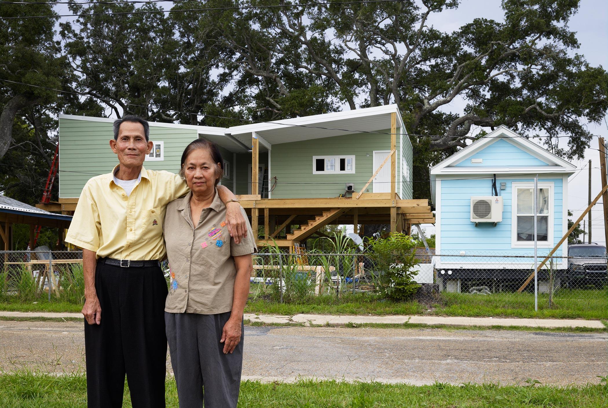 Katrina replacement house, Biloxi, MS. Credits: Alan Karchmer