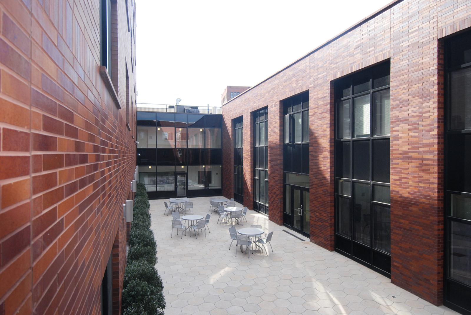 Hughes courtyard. Image Credit: Adrian Vasile