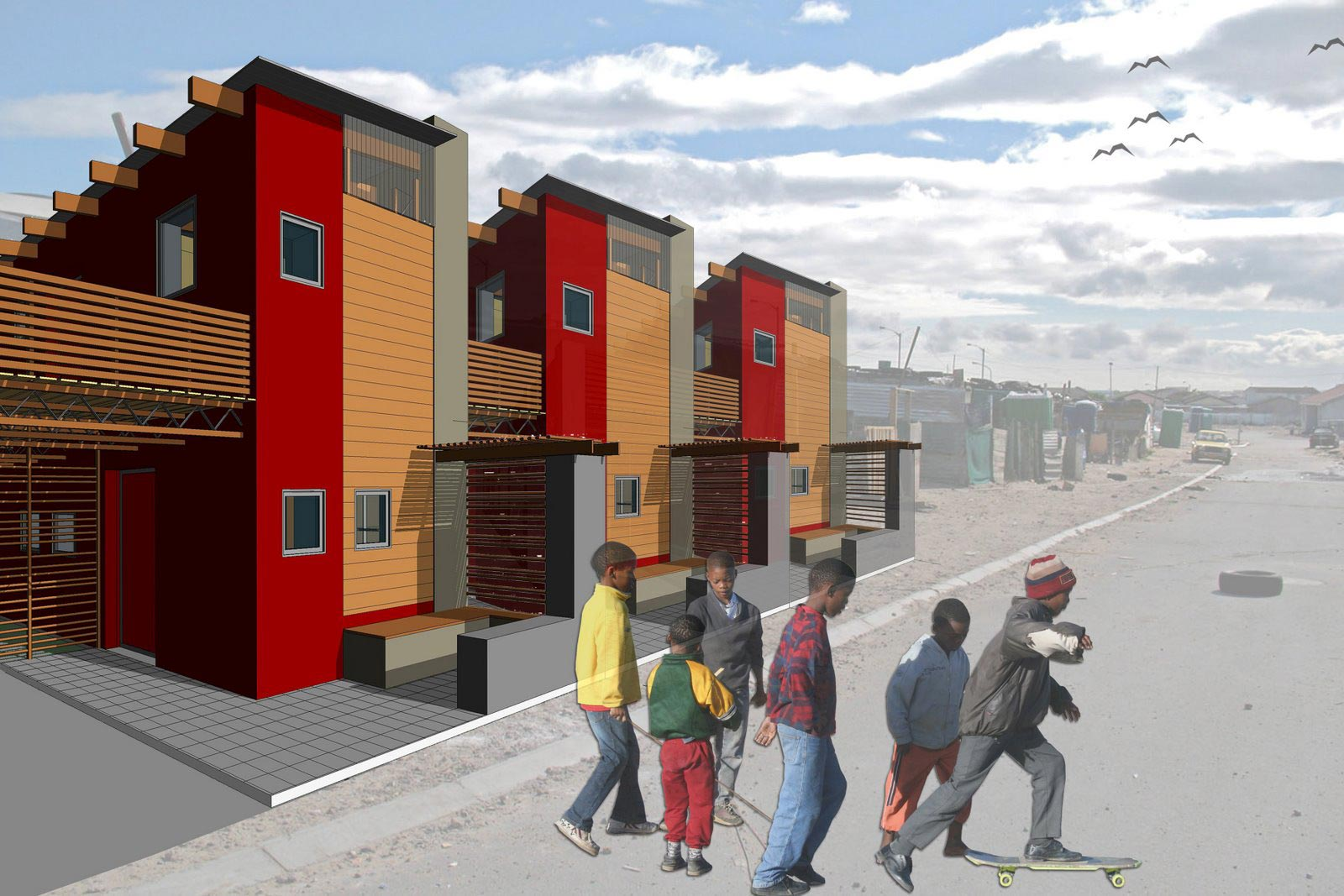 Design solution for low cost housing